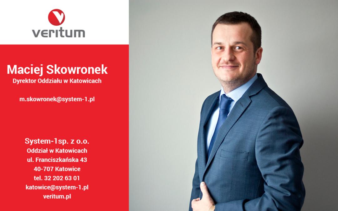 Nowy Dyrektor Oddziału w Katowicach
