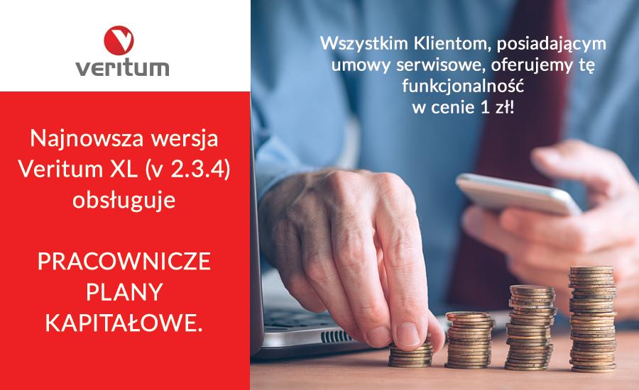 Pracownicze Plany Kapitałowe w Veritum za 1 zł!