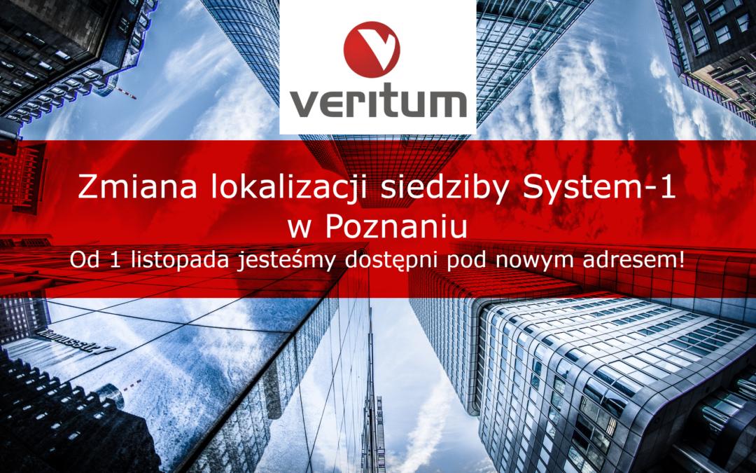 Zmiana lokalizacji siedziby System-1 w Poznaniu