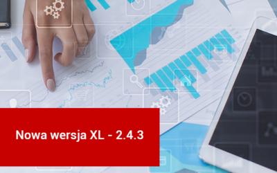 VeritumXL 2.4.3 – nowa wersja