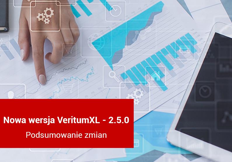 VeritumXL 2.5.0 podsumowanie zmian