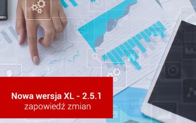 VeritumXL 2.5.1 – zapowiedź zmian
