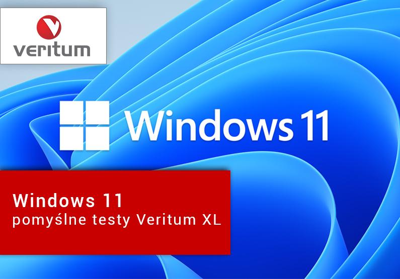 Windows 11 – pomyślne testy Veritum XL