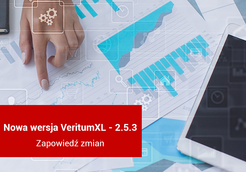 VeritumXL 2.5.3 – zapowiedź zmian